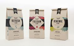Ninety10 Coffee Co. is a concept for a coffee company that wants to make a positive impact in the world. #packaging #color #coffee