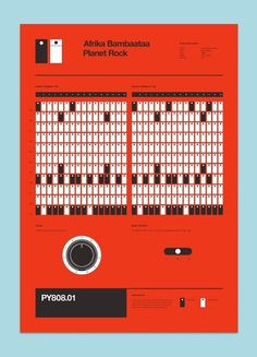 Program your 808 | BLDGWLF #design #graphic #poster