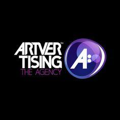 Artvertising Logo #agency #budapest #blik #hungary #identity #logo #suppr #danielblik #typography