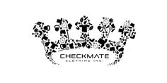 Checkmate Clothing Inc. #logos #branding #business #card #design #graphic #illustration #identity #gradient #logo #layout #web #typography