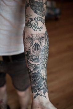 ycCkW.jpg (467×700) #tattoo #skull
