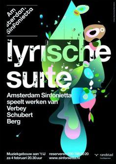 Amsterdam Sinfonietta - Studio Dumbar #graphic design #poster #studio dumbar