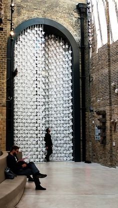 CJWHO ™ (The Wind Portal by Najla El Zein Design Studio ...) #design #art #installation #paper #amazing #crafts #wind portal