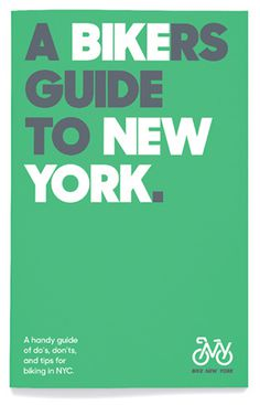 Bike New York by Pentagram #by #bike #york #pentagram #new