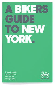 Bike New York by Pentagram #by #bike #york #pentagram #new