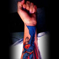 35 Inspirational Superman Tattoos
