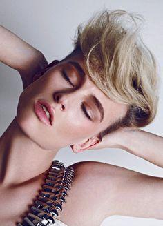 Milou van Groesen by Koray Birand for Harper's Bazaar Turkey #model #girl #photography #portrait #fashion #beauty
