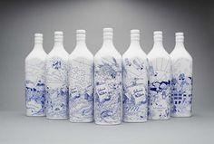 Johnnie Walker 1910 Special Edition Bottles #packaging