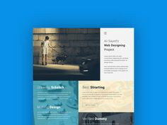 Creative Web Agency PSD Template
