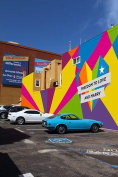 2013 San Diego LGBT Pride Branding on Behance #mural