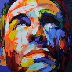 Francoise Nielly | PICDIT #design #color #portrait #painting #art #colour