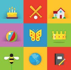 Matt Stevens // Creative Direction + Design - WORK BLOG - New Work:Â Tykoon #energy #icons #bright #playful #education #web app