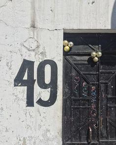 #lettering #handlettering #49 #latergram #streetnumbers
