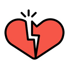 See more icon inspiration related to broken, heartbreak, love and romance, valentines day, broken heart, romantic, love and shapes on Flaticon.