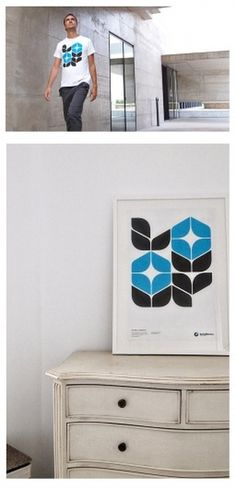 STAR GRID POSTERS + SANTAMONICA '10/11 on the Behance Network #print #tee #tshirt #poster