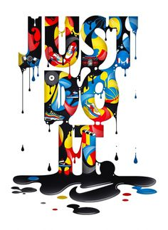 Just Do It. #nike #illustration #typography
