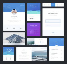 Minimal UI Kit (Sketch)