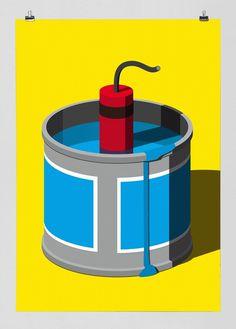 Festival Nrmal « FEIXEN: Design by Felix Pfäffli #print #poster
