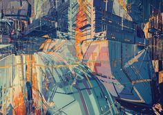 OUTPOST - atelier olschinsky #illustration #architecture