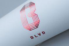 Blvd by Haus #logo #symbol #stationery