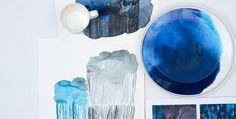 Luonnoksia: näin syntyi Sääpäiväkirja kokonaisuus   Marikylä #marimekko #maija #weather #collection #spivkirja #diary #metsolal #watercolor #aino