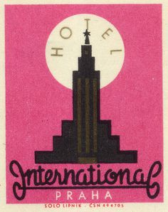 All sizes | Hotel International Praha | Flickr Photo Sharing! #illustration
