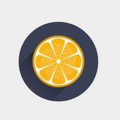 Orange you glad it's flat design