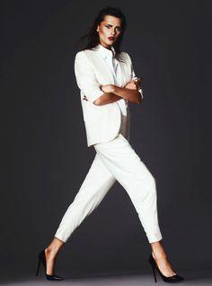 Elena Melnik by Andrew Yee for S Moda #fashion #model #photography #girl