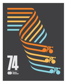 Caleb Kozlowski cycling posters | Veerle's blog 3.0 #cycling #shape #poster