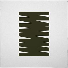 #411 Monument scribble – A new minimal geometric composition each day