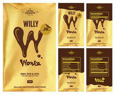 Willy Wonka chocolate gets a 21st century redesign | Branding | Creative Bloq #theater #theatre #packaging #candy #chocolate #arts #bar #willy #performing #wonka