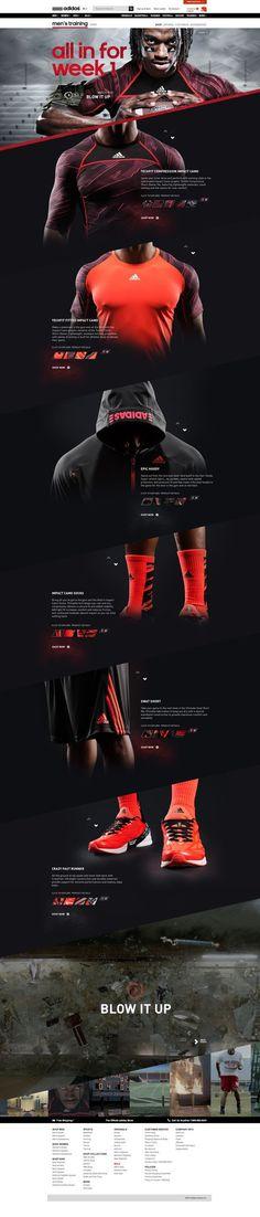 Adidas #web