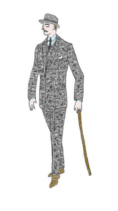 original illustrations for Max (June 2013) #formal #illustration #men #fashion #dress