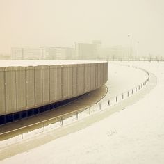 Winter Berlin on the Behance Network #architecture #berlin #facades