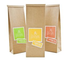 Bonsai tea Benny Moore #branding #cardboard #design #tea #package