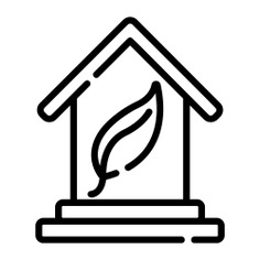 See more icon inspiration related to leaf, eco home, ecology and environment, architecture and city, eco house, real estate, ecologic, electronics, ecological, eco, house, buildings, home and construction on Flaticon.