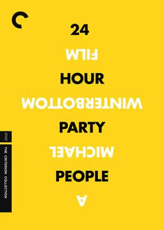 24 Hour Party People, by Heath Killen #inspiration #creative #yellow #design #graphic #poster