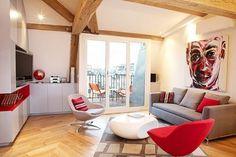 Surprising Apartment Design in Paris: Le Loft des Innocents #interior #paris