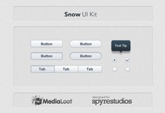 Snow kit Free Psd. See more inspiration related to Snow, Web, Modern, Buttons, Psd, Web button, Horizontal and Kit on Freepik.