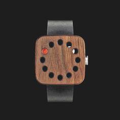 """Wood-watch"" by Stefan Andrén for Grovemade"