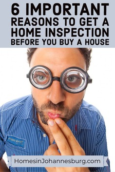 Get a Home Inspection Before You Buy a House