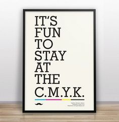 Funny Design and typographical posters by Gary Nicholson | Jared Erickson #typography #type #minimal #poster #funny