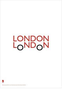 logo, type & web design / London London logo #london