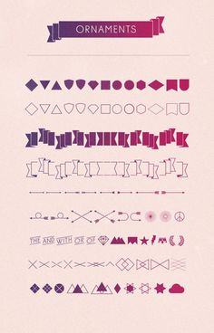Diamonds  Type Family #typography