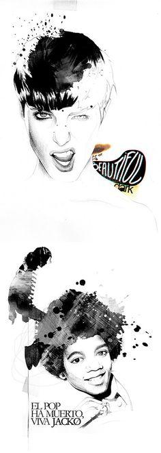 Illustrations by David Despau #watercolors #illustration #pen #art #fashion
