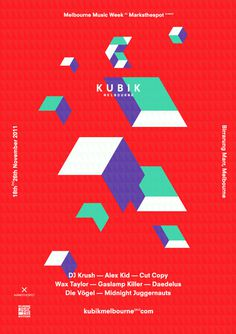 Kubik - v2a #print #poster