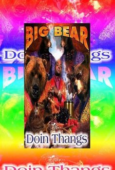 100% Paper #big #colors #hop #bear #hip