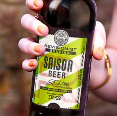 Tescos Revisionist Bottles #beer #packaging #type