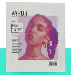 VAPOR | Magazine on Behance