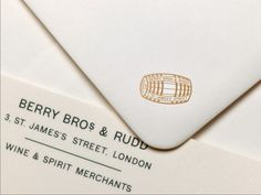 Berry Bros. & Rudd #logo #envelope
